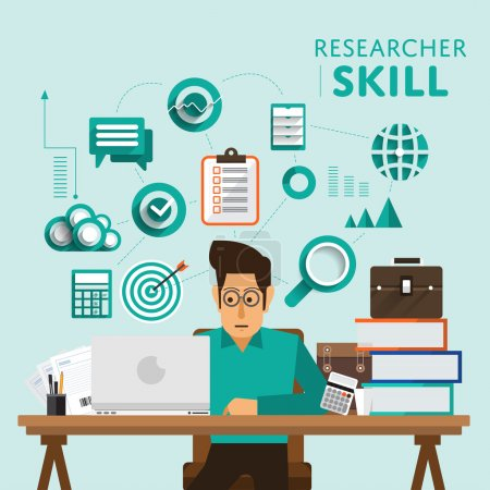 marketing show skill icon for Researcher
