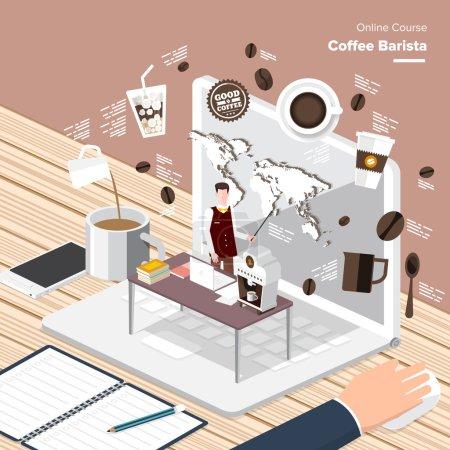 digital content coffee barista
