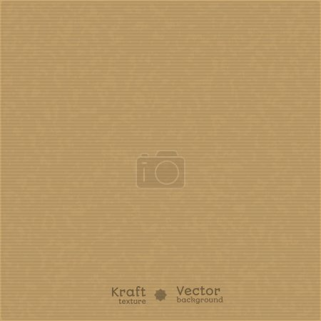 Illustration for Kraft paper texture background. Use for your design. presentations, etc. - Royalty Free Image
