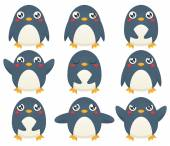 Penguin Emotion Set