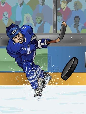 Toronto ice hockey playe