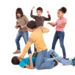 Постер, плакат: Kids fight