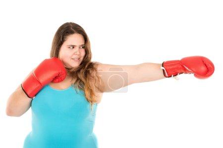 Large girl boxer
