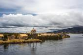 Floating Islands on the Lake Titicaca, Puno, Peru