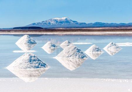 Photo pour Lac salé - Salar de Uyuni en Bolivie - image libre de droit