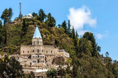 Famous Biblian's Santuario de la Virgen del Rocio, Ecuador