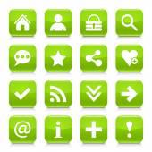 16 basic icons set