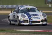 Závodní auto Porsche Carrera Cup Italia