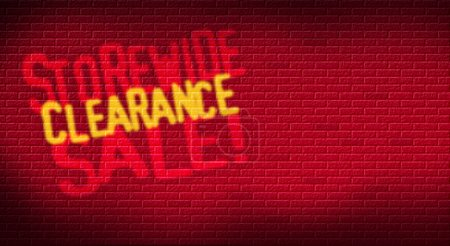 Storewide Clearance Sale Painted