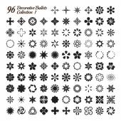 Collection of 96 Decorative Bullets made with precision