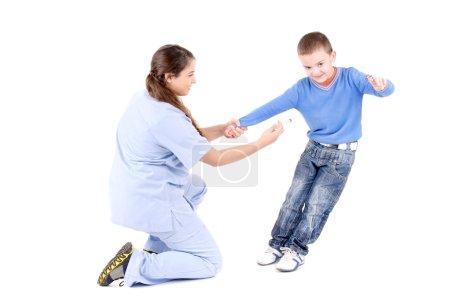 Female child doctor