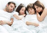 Happy Family sleeping