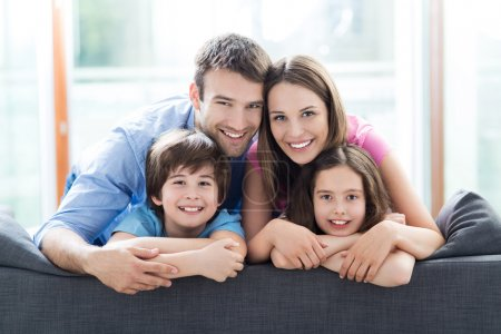 Photo for Beautiful example of Happy family together - Royalty Free Image