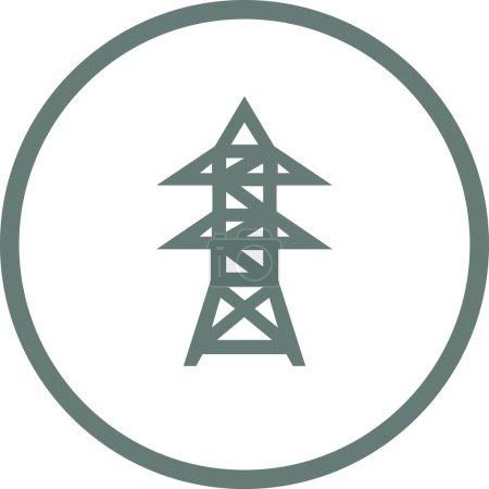 Energy Utility Icon - Stock Illustration