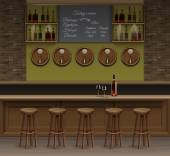 Bar Cafe Beer Cafeteria Counter Desk Interior