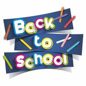 Creative Concept With Back To School Theme vector illustration