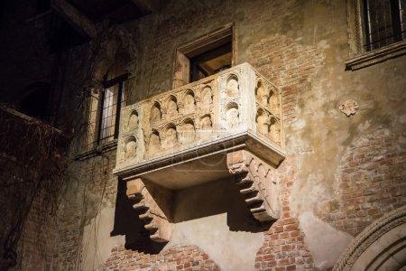 Juliets balcony Verona Italy