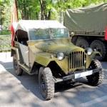 Постер, плакат: Soviet jeep GAZ 67