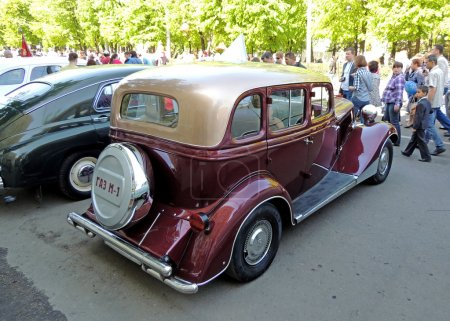 Soviet retro car of 1930s GAZ M1