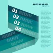 Paper options template vector illustration