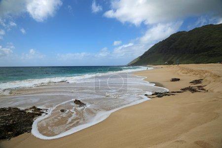 Photo pour Plage à Kaena Point State Park - Oahu, Hawaï - image libre de droit