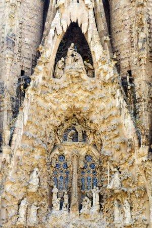 BARCELONA, SPAIN - SEPTEMBER 15: Sagrada Familia d...
