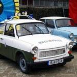BERLIN, GERMANY-DECEMBER 17. POLICE vintage cars