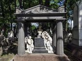 Necropolis of Alexander Nevsky Lavra. Under the authority of the