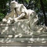 Necropolis of Alexander Nevsky Lavra. Under the au...