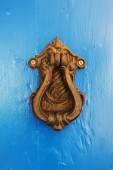 Vintage železné držadlo na staré dveře