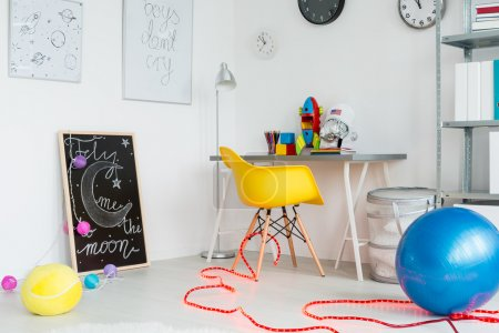 Creative space interior decor