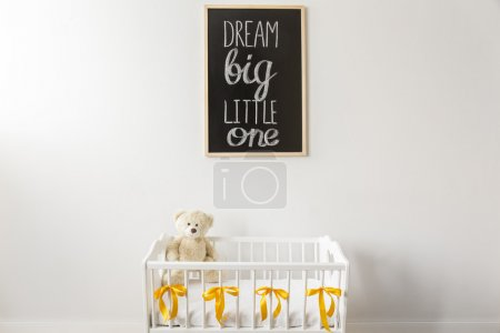 Dream big, our little one