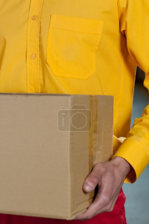 Close-up of factory worker