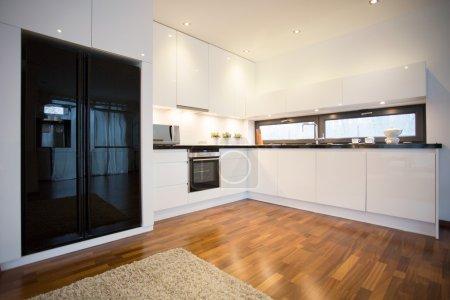 Open luxury kitchen