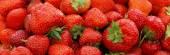 Frischen sommerlichen Erdbeeren