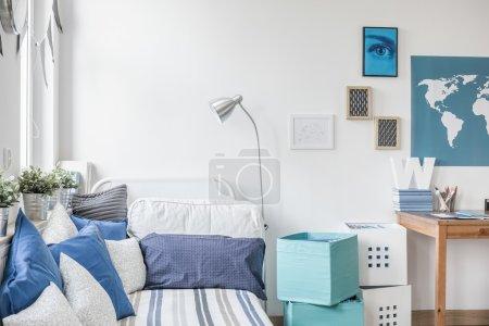 Designed teen boy bedroom
