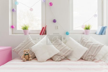 White comfortable sofa