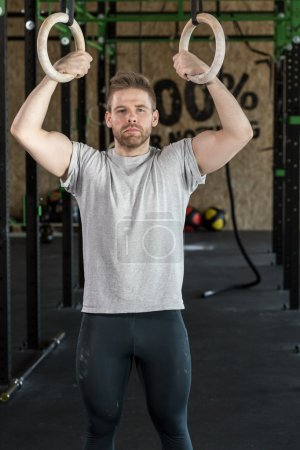 Exercise with cross fit equipment