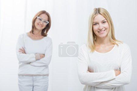 Mère et fille gaies