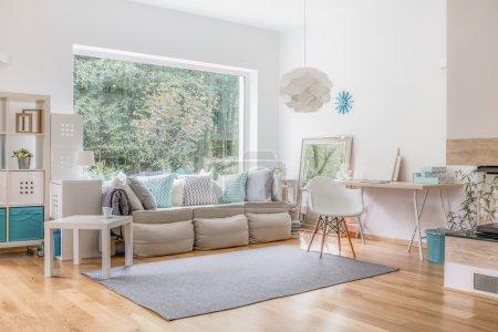 Living room and big window