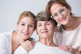 Vícegenerační rodina trávit čas společně