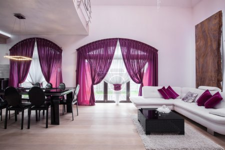 Photo pour Image de style neuf meublé soigné intérieur de la maison - image libre de droit