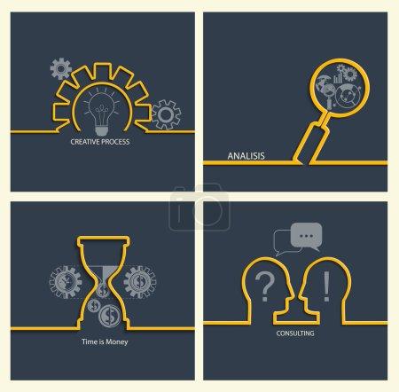 Ensemble de concepts d'entreprise
