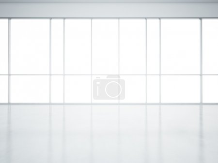 Photo for Clear interior with large windows - Royalty Free Image