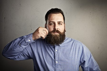 Photo for Portrait of a bearded man - Royalty Free Image