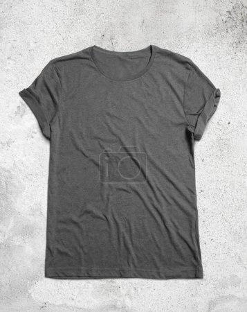 Blank grey t-shirt