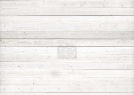 White wood background...