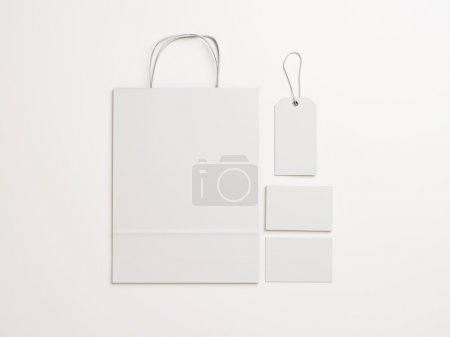 White branding elements Set