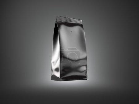 Black foil package
