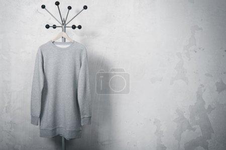 Photo of gray sweatshirt